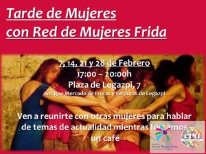 Red de mujeres Frida en EVArganzuela